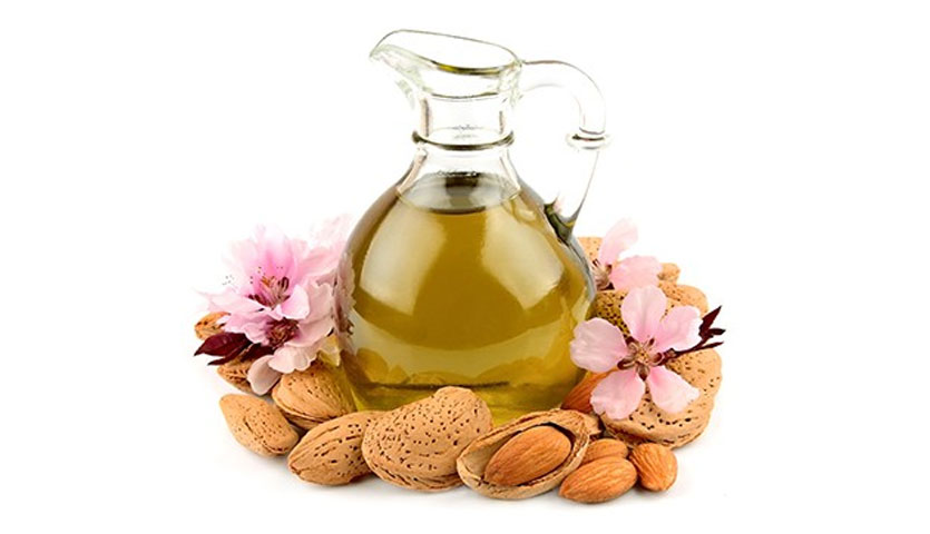 mascarilla de aceite de almendras