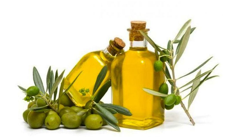 mascarilla de aceite de oliva