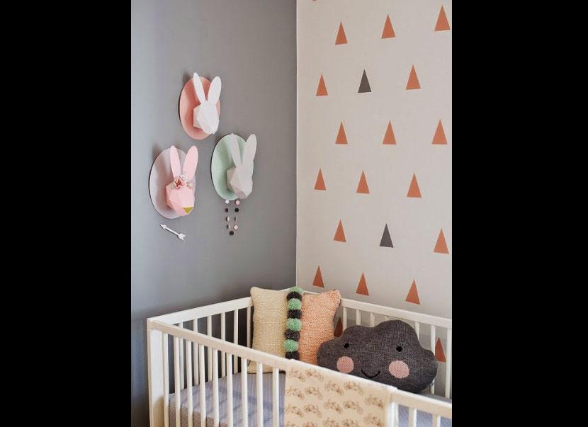 decorar habitación nordic nursery