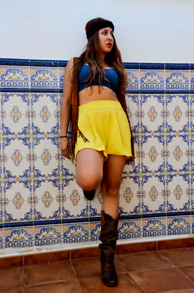 look outfit tarde