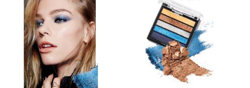 maquillaje en tonos metalicos 1